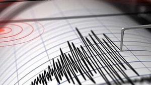 Marmaris'te deprem meydana geldi