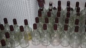 Marmaris'te sahte içki yakalandı