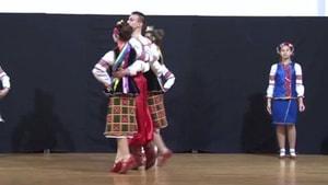 Ukraynalı dans ekibi Marmaris'teydi