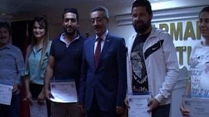 Esnaf Odası'nın toplu sertifika töreni