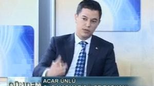 07.04.2017 Konuk :CHP İlçe Başkanı Acar Ünlü
