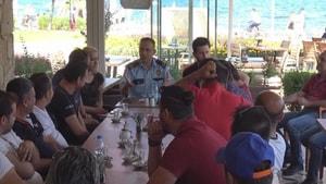 Polis işletmecilerle toplantı yaptı