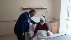 Acar hastaneleri ziyaret etti