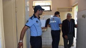 Nazilli'de bayram öncesi umumi tuvaletler denetlendi