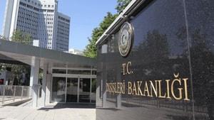Dışişleri Bakanlığı'ndan deprem açıklaması