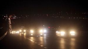 Tekirdağ'da 20 kilometrelik araç kuyrukları oluştu