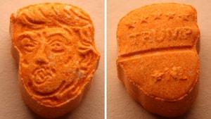 Trump heykelinde 39 bin Euro değerinde uyuşturucu ele geçirildi