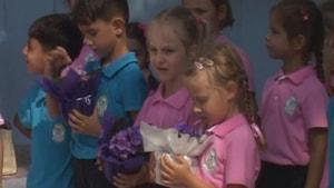 Marmaris'te öğrenciler ders başı yaptı