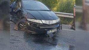 Taşhan'daki kazada 10 kişi yaralandı