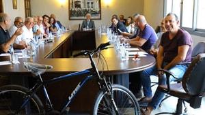 Meclis'te bisiklet çekilişi