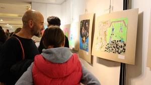 Resim yarışması ödül töreni düzenlendi