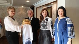 Ukraynalı gruptan teşekkür ziyareti