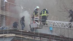Kapalı Çarşı'da yangın paniği