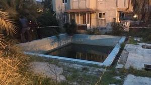O havuz toprakla dolduruldu
