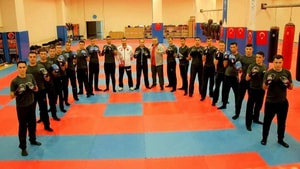 Jandarma Personeline Muay Thai Eğitimi