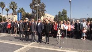 Kutlamalar Atatürk Meydanı'nda başladı