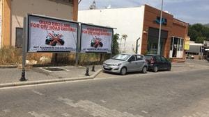 ATV'lere karşı afişli kampanya