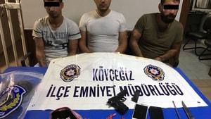 Suç makineleri Köyceğiz polisinden kaçamadı