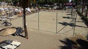 Voleybol keyfi plaja taşındı