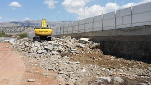Erzincan 13 Şubat Şehir Stadı yıkılıyor