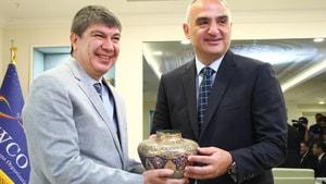 Turizm Bakanı Ersoy Antalya'da