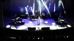 Funda Arar Amfi Tiyatro'da konser verdi