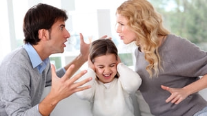 Çocuklar önünde kavga etmeyin
