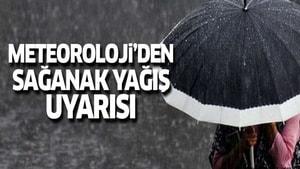 Meteoroloji Genel Müdürlüğü 4. Bölge'den meteorolojik uyarı;