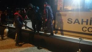 Marmaris Armella koyu açıklarında 14 Göçmen Yakalandı