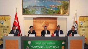 Marmaris Çam Balı Coğrafi İşareti tanıtımı yapıldı.