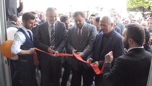 Serkan Yazıcı Armutalan Seçim Ofisi'ni açtı