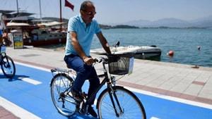 Bisiklet Yolları Fethiye'ye ödül getirdi