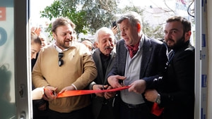 Yazıcı Sarıana Seçim Ofisi'ni açtı