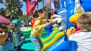 Marmaris'te 23 Nisan kutlamaları