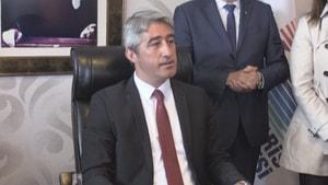 Mehmet Oktay göreve başladı