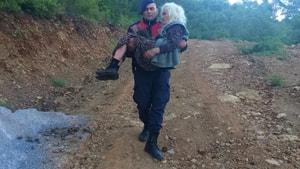Marmaris'te 103 Yaşındaki Kadın, Yaralı Halde Bulundu