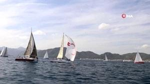 Uluslararası Yelkenli Yat Yarışları'nda ikinci gün tamamlandı