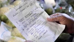 Marmaris'te Yabancılar yaşlı 'Türk komşuları' için alışveriş yaptı