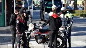 Marmaris polisi kural tanımaz motosiklet sürücülerine göz açtırılmıyor