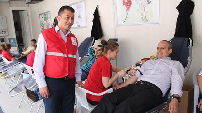 PTT Marmaris Şubesinden Kan Bağışı