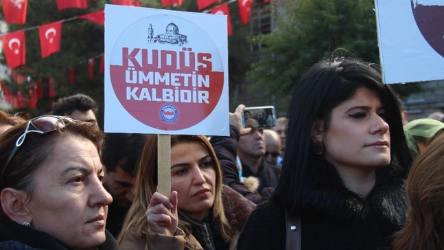 Elazığ'dan Trump'a