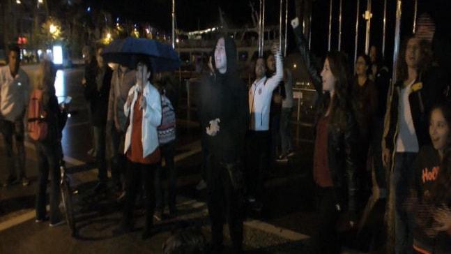 Marmaris'te YSK protesto edildi