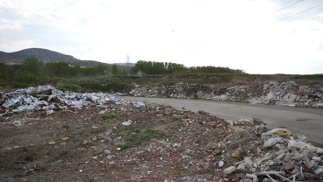 30 yıllık çöplük park haline dönüştürülecek