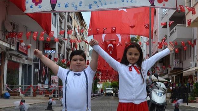Marmaris'in 23 Nisan Sokağı