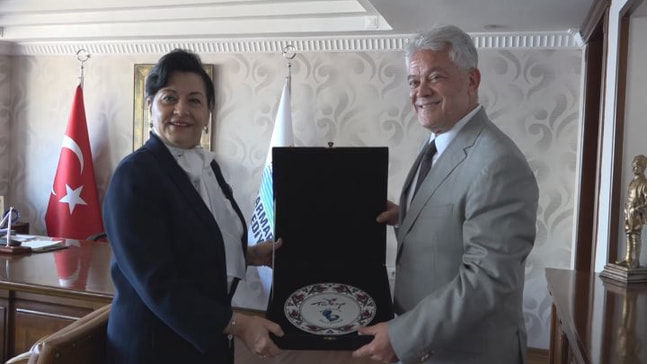 Vali Civelek Başkan Acar'ı ziyaret etti