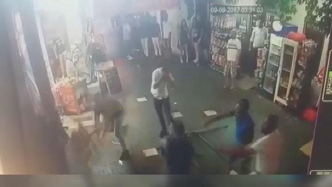 Barlar Sokağı'nda kavga