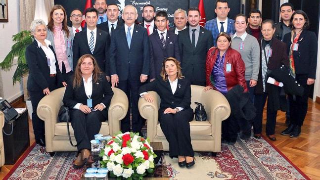 CHP Heyeti Ankara'yı ziyaret etti