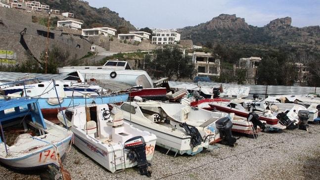 12 milyon değerindeki tekneler çürümeye terk edildi
