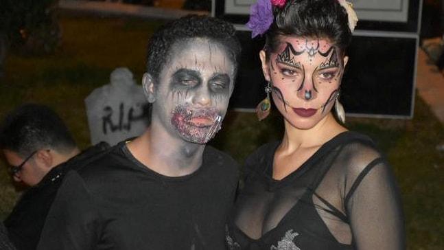 Marmaris'te Cadılar Bayramı kutlandı