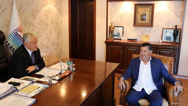 Kocadon Başkan Acar'ı ziyaret etti